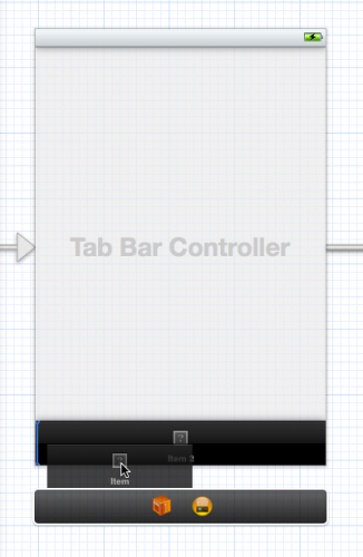 Rearranging tabs in the Storyboard editor
